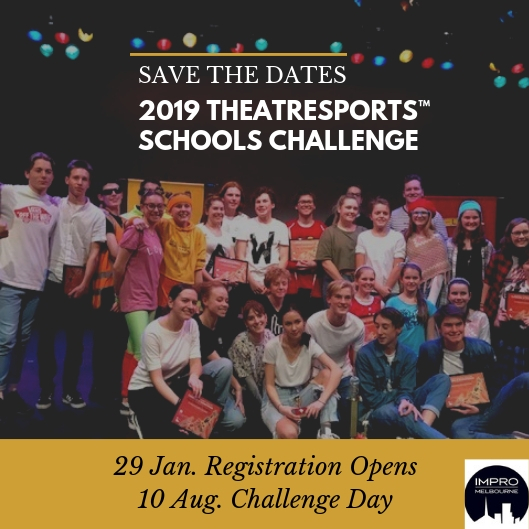 theatresports schools challenge save the date announcement