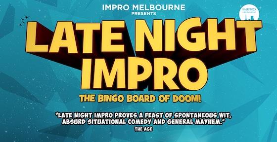 Late Night Impro: The Bingo Board of Doom